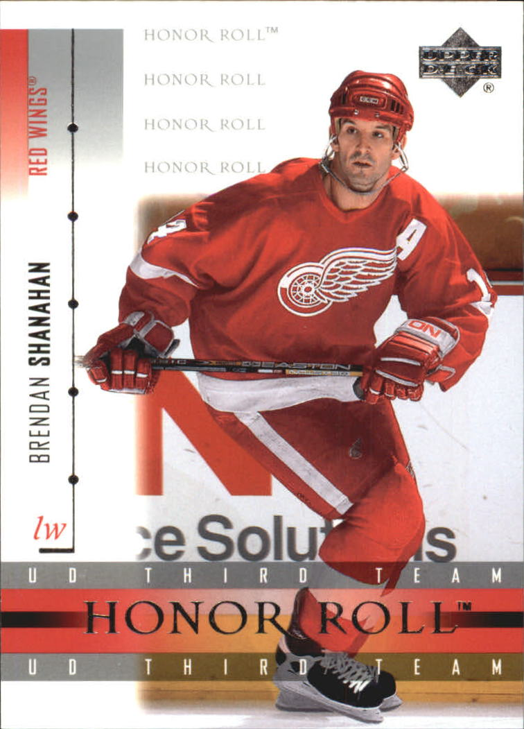 2001-02 Upper Deck Honor Roll #49 Brendan Shanahan