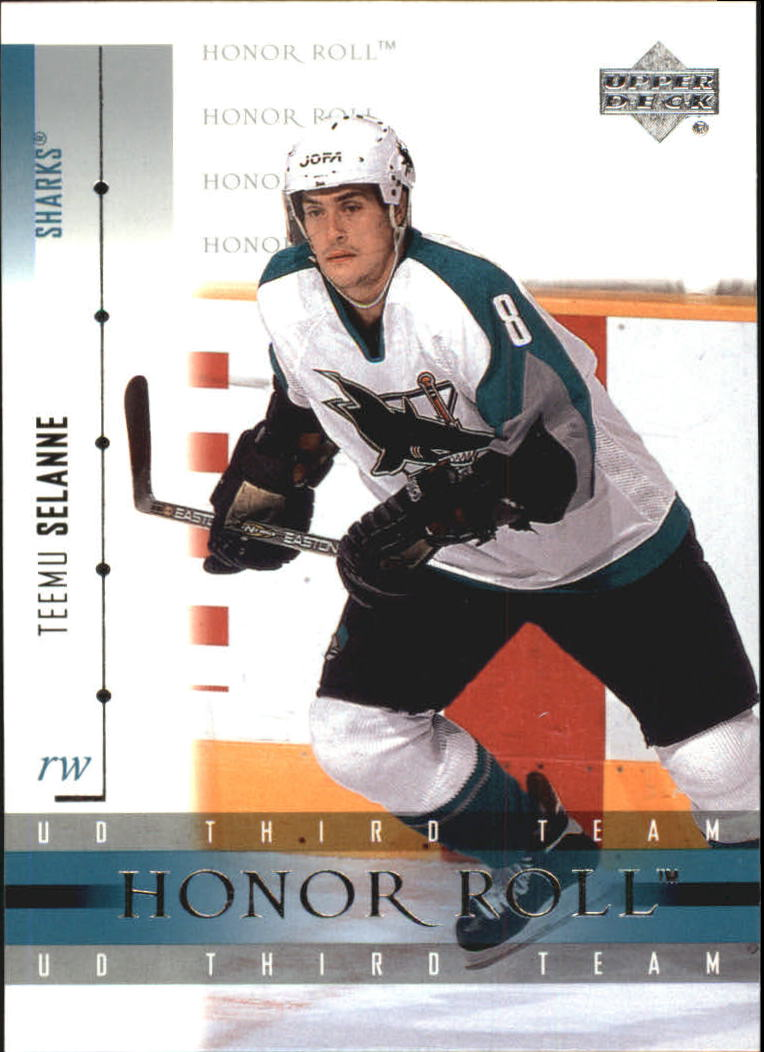 2001-02 Upper Deck Honor Roll #51 Teemu Selanne