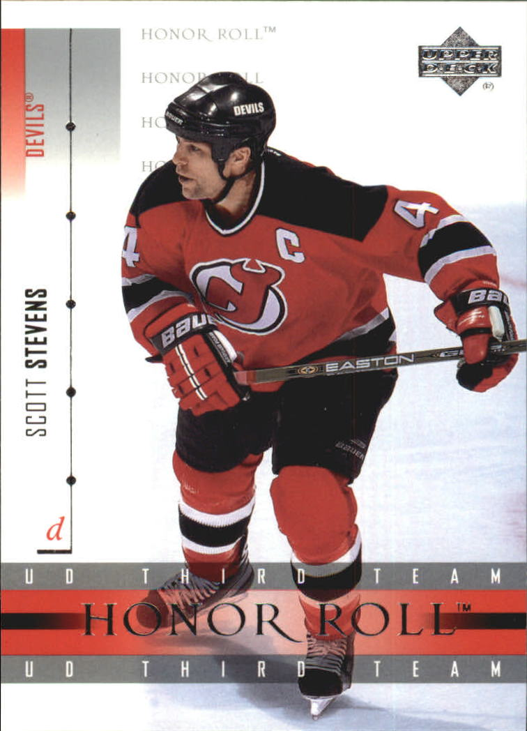 2001-02 Upper Deck Honor Roll #53 Scott Stevens
