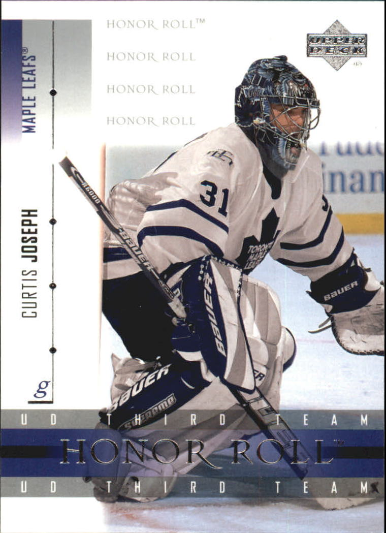 2001-02 Upper Deck Honor Roll #54 Curtis Joseph