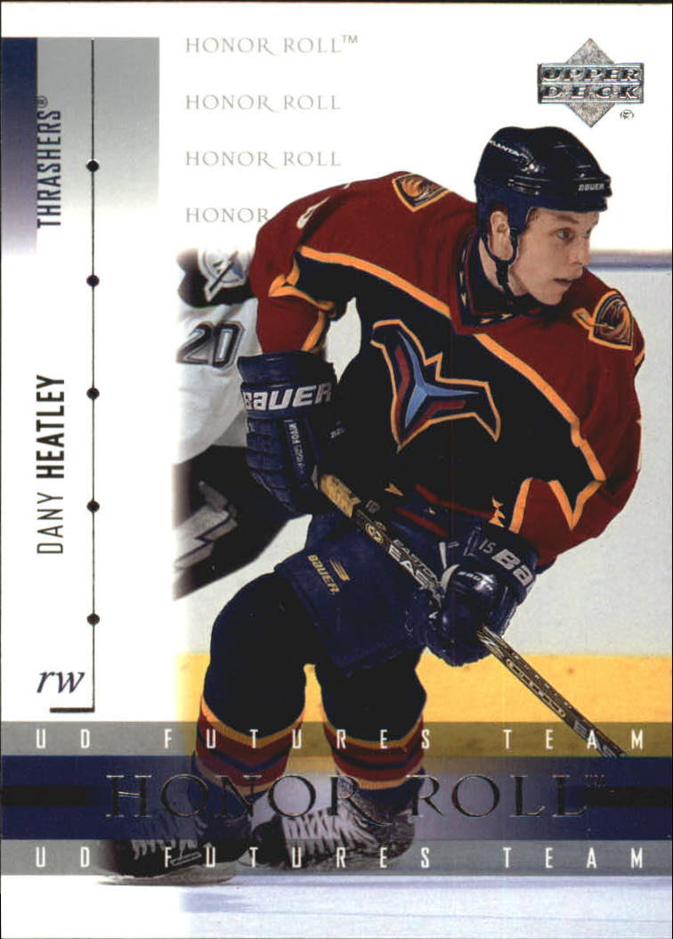 2001-02 Upper Deck Honor Roll #55 Dany Heatley