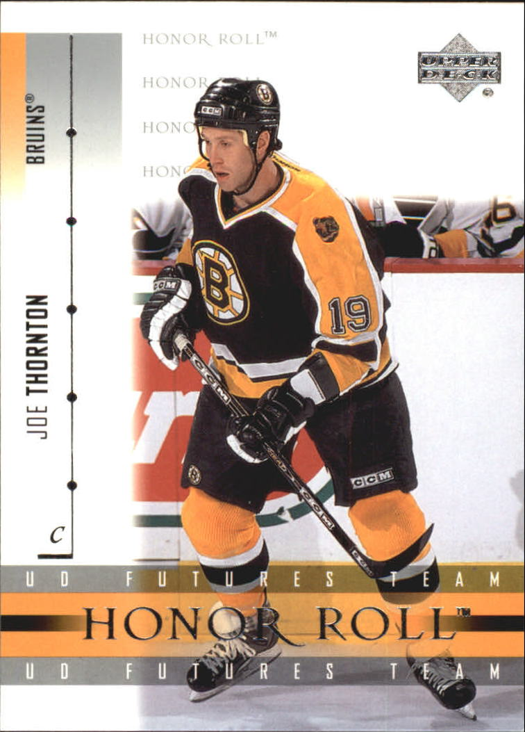 2001-02 Upper Deck Honor Roll #56 Joe Thornton