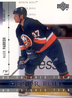 2001-02 Upper Deck Honor Roll #57 Mark Parrish