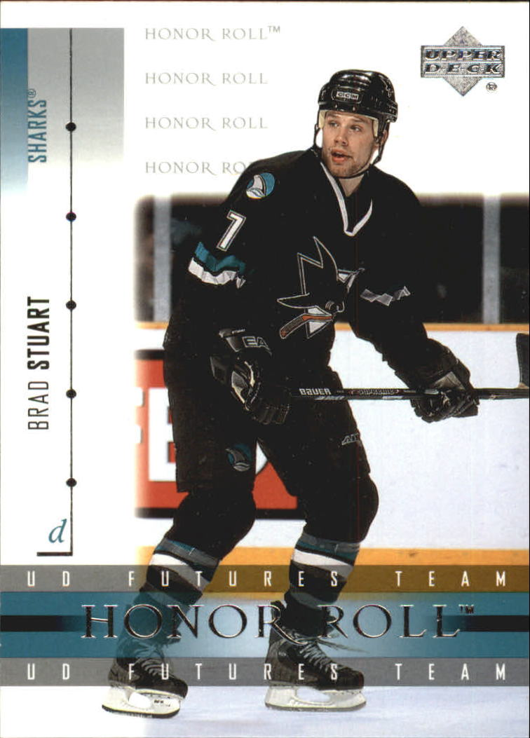 2001-02 Upper Deck Honor Roll #59 Brad Stuart