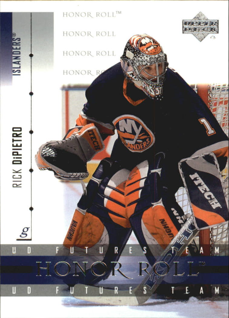 2001-02 Upper Deck Honor Roll #60 Rick DiPietro