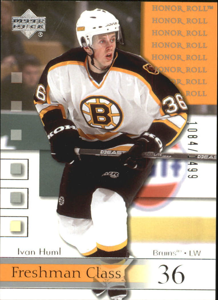 2001-02 Upper Deck Honor Roll #65 Ivan Huml RC