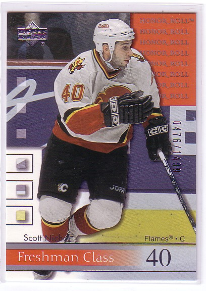 2001-02 Upper Deck Honor Roll #67 Scott Nichol RC