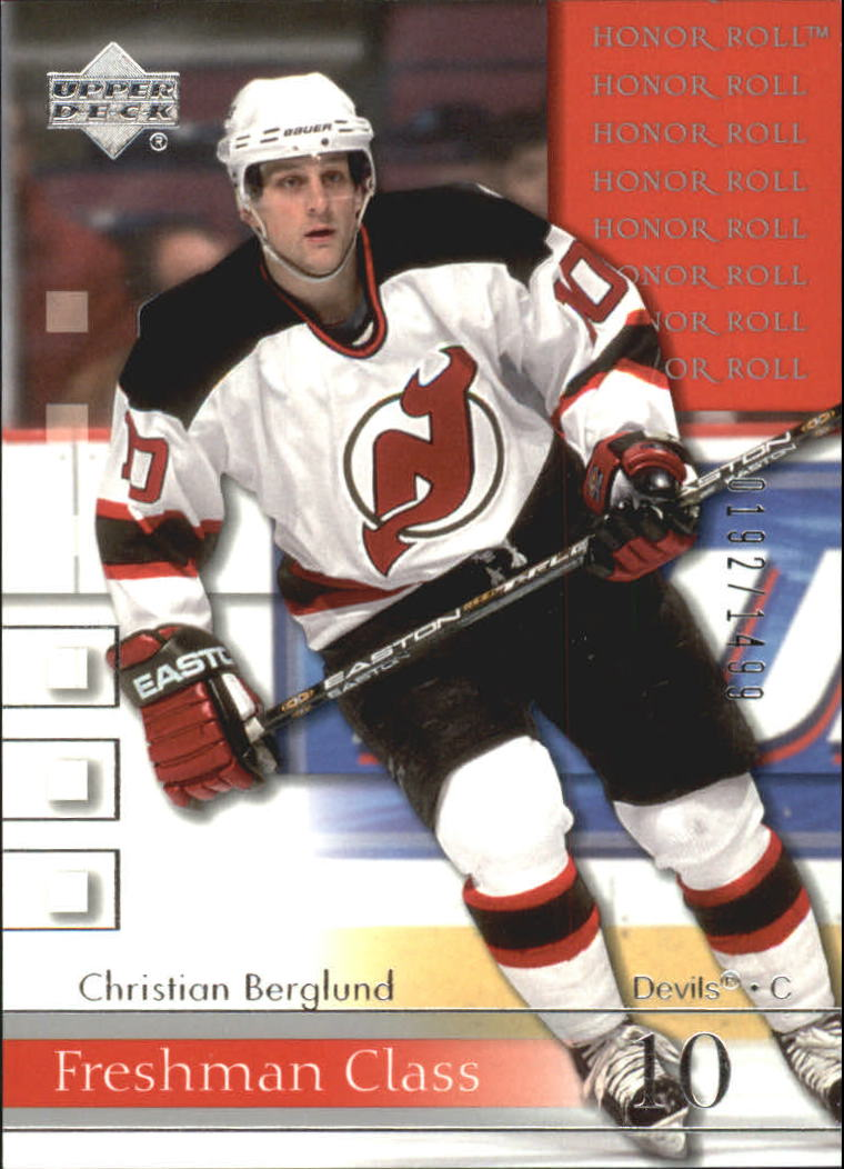2001-02 Upper Deck Honor Roll #79 Christian Berglund RC