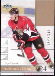 2001-02 Upper Deck Honor Roll #83 Ivan Ciernik RC