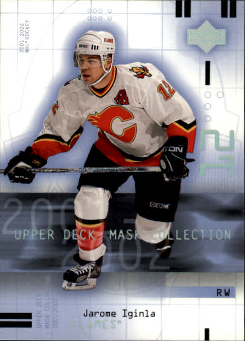 2001-02 UD Mask Collection #13 Jarome Iginla