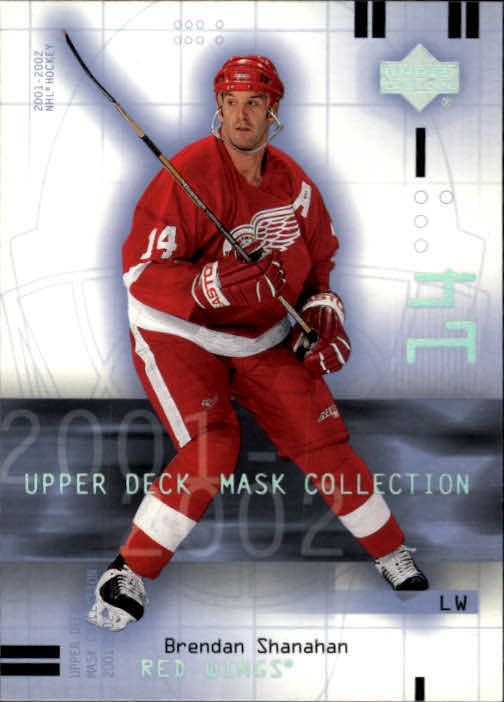 2001-02 UD Mask Collection #32 Brendan Shanahan