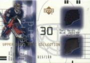 2001-02 UD Mask Collection Jersey and Patch #JPMD Marc Denis