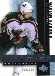 2001-02 UD Premier Collection #29 Marian Gaborik