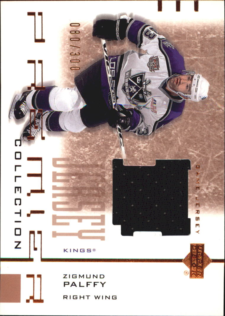 2001-02 UD Premier Collection Jerseys #BZP Zigmund Palffy B