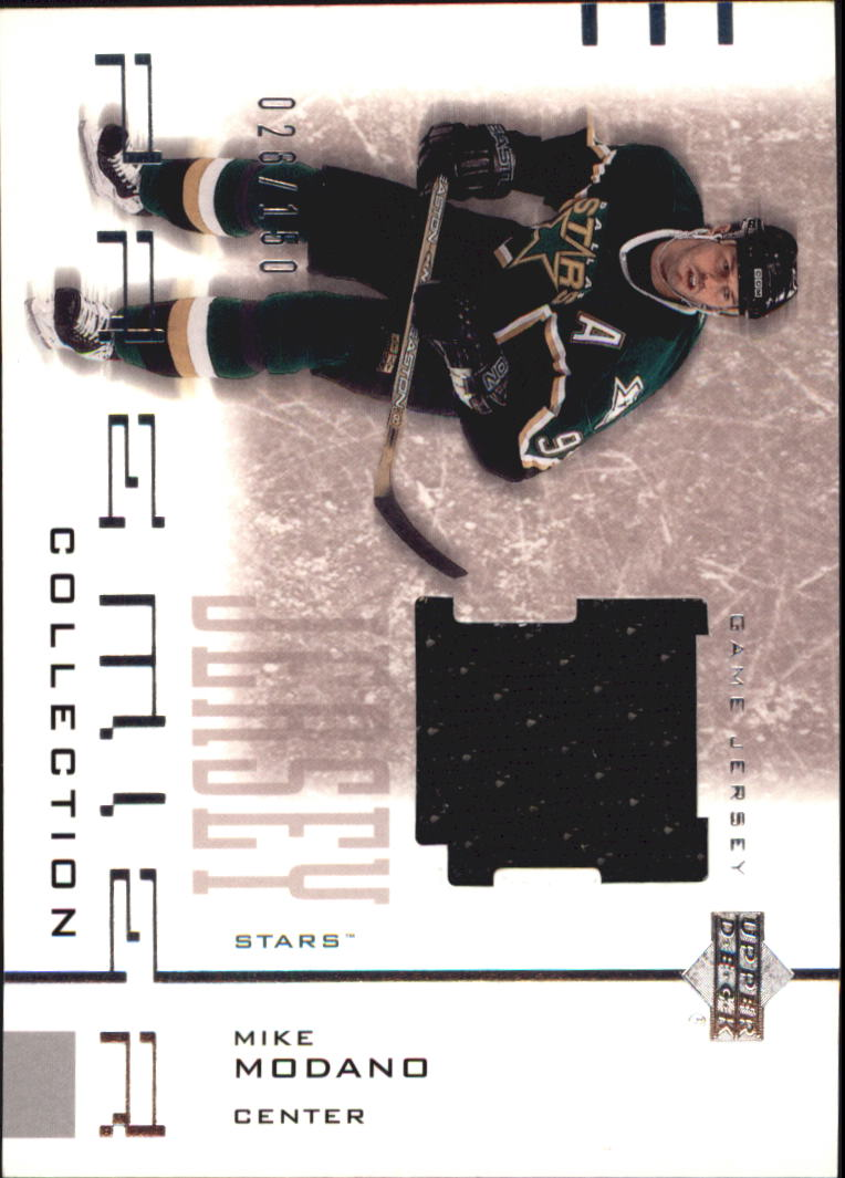 2001-02 UD Premier Collection Jerseys #SMM Mike Modano S