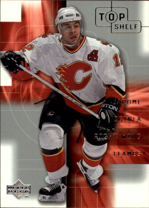 2001-02 UD Top Shelf #5 Jarome Iginla front image