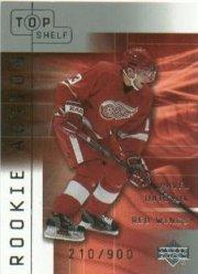 2001-02 UD Top Shelf #127 Pavel Datsyuk RC