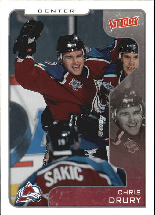 2001-02 Upper Deck Victory #89 Chris Drury