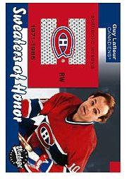 2001-02 Upper Deck Vintage Sweaters of Honor #SHGL Guy Lafleur