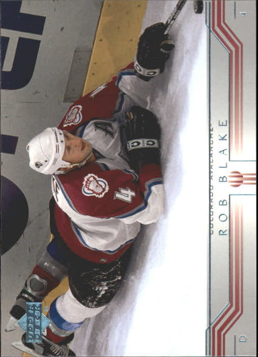 2001-02 Upper Deck #275 Rob Blake