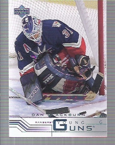 2001-02 Upper Deck #434 Dan Blackburn RC