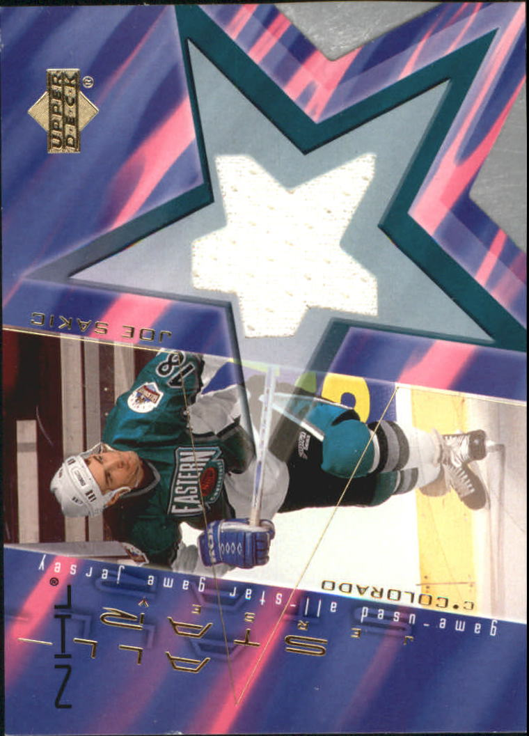 2001-02 Upper Deck Game Jerseys #AJO Joe Sakic AS