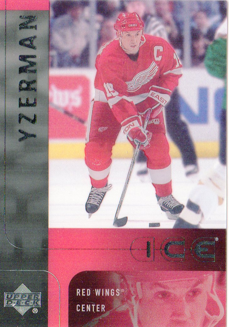 2001-02 Upper Deck Ice #15 Steve Yzerman