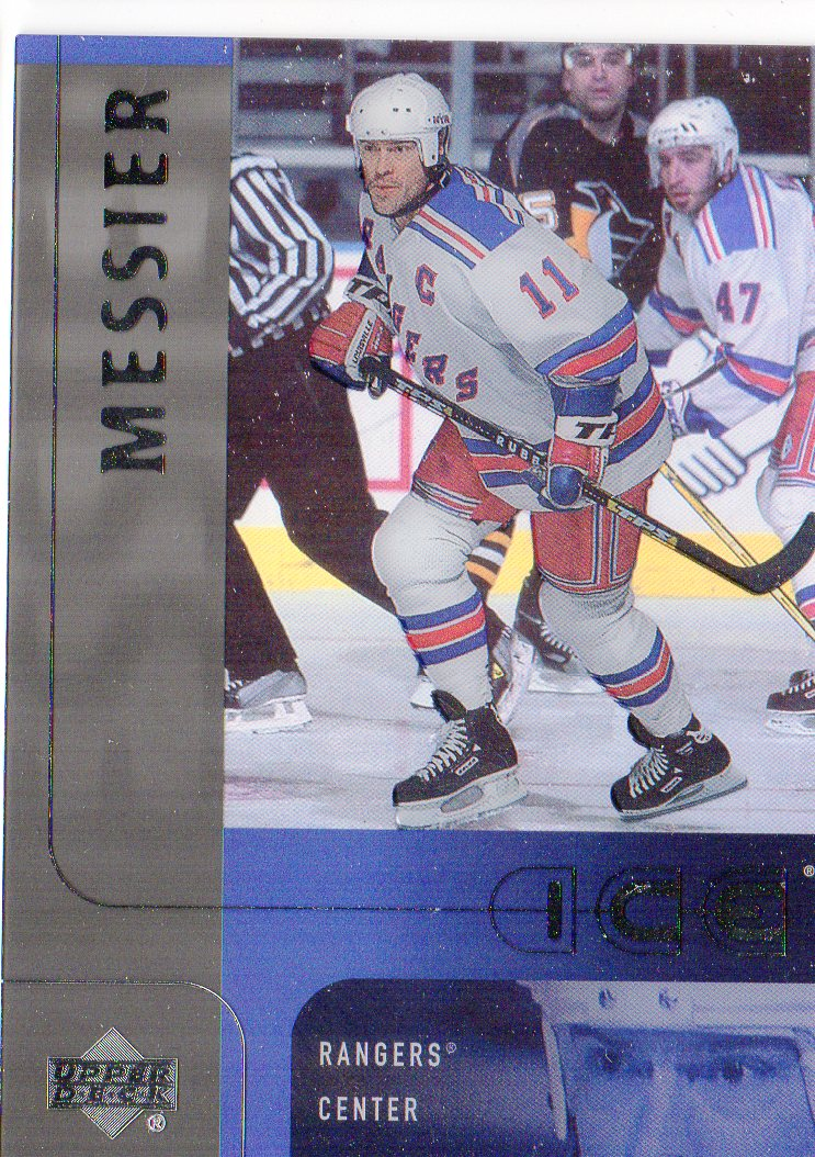 2001-02 Upper Deck Ice #30 Mark Messier