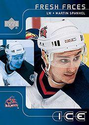 2001-02 Upper Deck Ice #51 Martin Spanhel RC