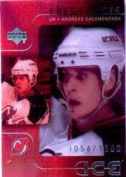 2001-02 Upper Deck Ice #60 Andreas Salomonsson RC
