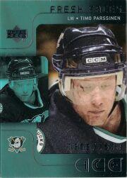 2001-02 Upper Deck Ice #73 Timo Parssinen RC