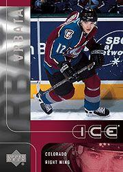 2001-02 Upper Deck Ice #91 Radim Vrbata