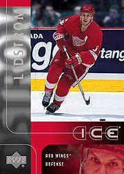 2001-02 Upper Deck Ice #98 Nicklas Lidstrom