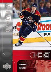 2001-02 Upper Deck Ice #99 Sandis Ozolinsh