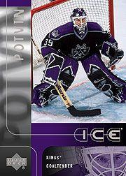 2001-02 Upper Deck Ice #101 Felix Potvin