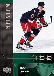 2001-02 Upper Deck Ice #108 Barrett Heisten