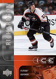 2001-02 Upper Deck Ice #111 Luke Richardson