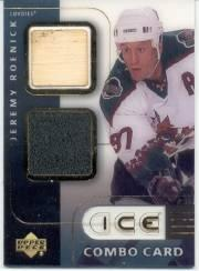 2001-02 Upper Deck Ice Jersey Combos #JR Jeremy Roenick