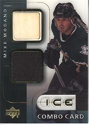 2001-02 Upper Deck Ice Jersey Combos #MM Mike Modano