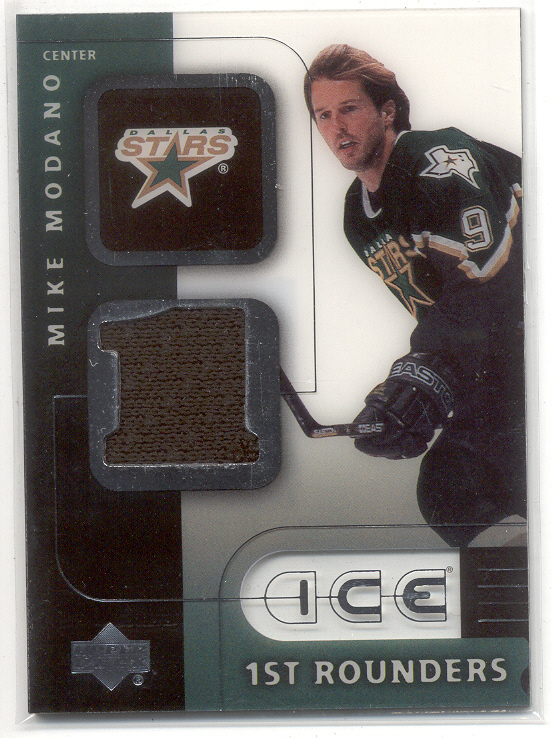 2001-02 Upper Deck Ice First Rounders Jerseys #FMM Mike Modano