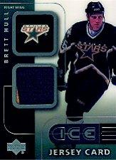 2001-02 Upper Deck Ice Jerseys #JBH Brett Hull
