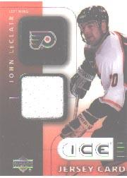 2001-02 Upper Deck Ice Jerseys #JJL John LeClair