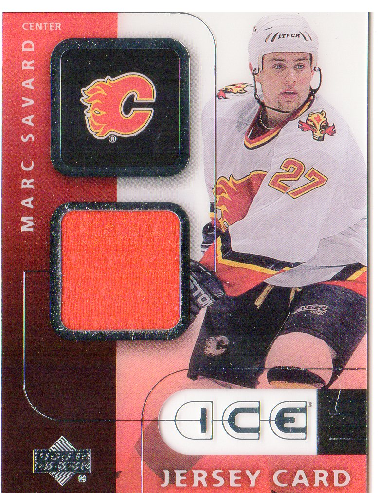 2001-02 Upper Deck Ice Jerseys #JMS Marc Savard