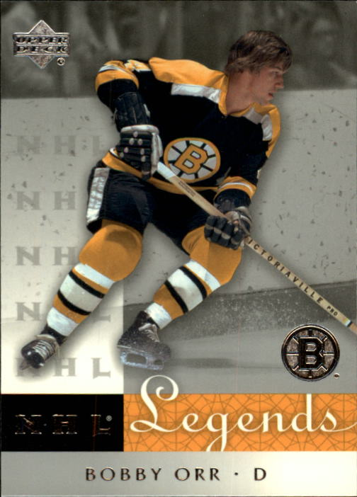 2001-02 Upper Deck Legends #1 Bobby Orr