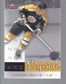 2001-02 Upper Deck Legends #4 Johnny Bucyk