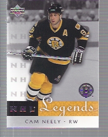 2001-02 Upper Deck Legends #5 Cam Neely front image