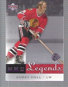 2001-02 Upper Deck Legends #11 Bobby Hull