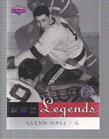 2001-02 Upper Deck Legends #12 Glenn Hall