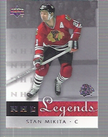 2001-02 Upper Deck Legends #13 Stan Mikita
