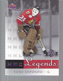 2001-02 Upper Deck Legends #14 Tony Esposito
